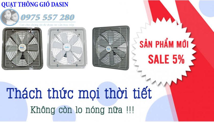 Nhà cung cấp chính quạt hút Dasin tại Việt Nam