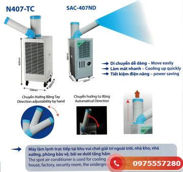 Máy lạnh di động mini SAC-407ND