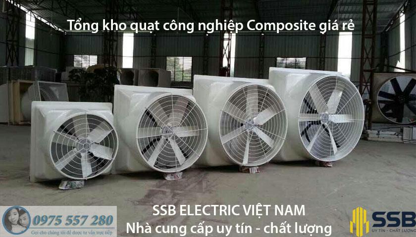 quat thong gio composite gian tiep