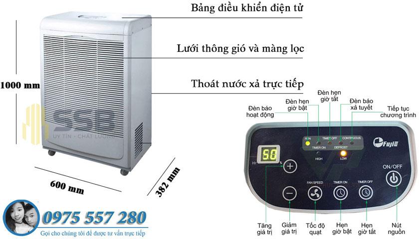 may hut ạm fujie hm-6120eb